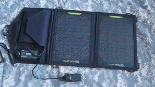 getlinkyoutube.com-Goal Zero Solar Charger Review - Solar Battery Charger