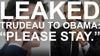 getlinkyoutube.com-LEAKED: Phone call between Justin Trudeau and Barack Obama about Trump's win