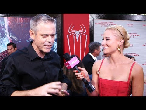 C.Thomas Howell on Andrew Garfield's Impressive Moves