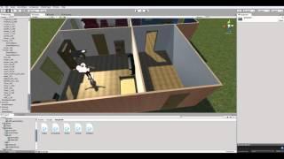 getlinkyoutube.com-Как сделать игру на Unity 5 #31   Двери, IK, корутины и интерфейсы