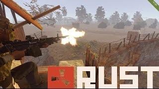 getlinkyoutube.com-Rust Tactics: M249 vs Raiders
