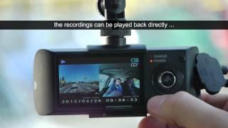 getlinkyoutube.com-Car DVR camera with GPS - PROTECT 802