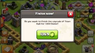 getlinkyoutube.com-1000000 gems in clash of clans