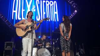 "getlinkyoutube.com-Alex and Sierra Perfom ""Little Do You Know"" - LIVE AT UCF"
