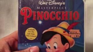 UNBOXING: New Walt Disney's Pinocchio 1993 VHS