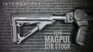 getlinkyoutube.com-VEPR AK Upgrade: Magpul CTR Stock + Buttpad + Riser