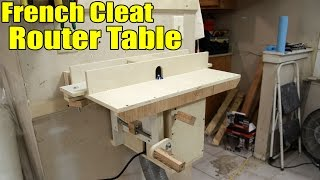 getlinkyoutube.com-Portable French Cleat Router Table - 143