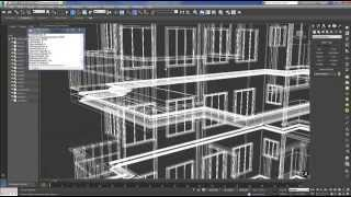 getlinkyoutube.com-3D Studio MAX Exterior (Bina Modelleme)