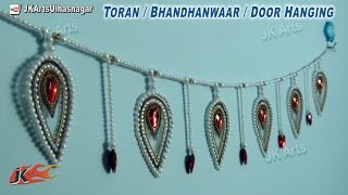 getlinkyoutube.com-DIY OHP Toran / bandanwaars | How to make | JK Arts 682
