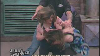 getlinkyoutube.com-Best Fights! 20 Years of The Jerry Springer Show Part 2