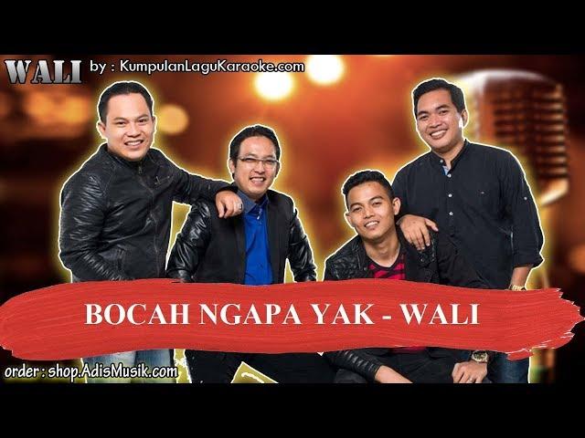 BOCAH NGAPA YAK - WALI Karaoke