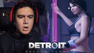 THIS CLUB HAD ANDROIDS SO FINE I HAD TO THANK THE LORD | Detroit: Become Human [7]