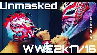 getlinkyoutube.com-WWE2k16/WWE2k17 HOW TO HAVE KALISTO AND SIN CARA UNMASKED (PS4/xBoxONE/PC)