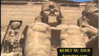 Ashra Kwesi Reveals God's Chosen Children at the Temple of Ramessu - Kemet (Egypt)