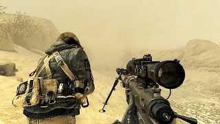 getlinkyoutube.com-Call of Duty Modern Warfare 2 Sniper Mission Gameplay HD
