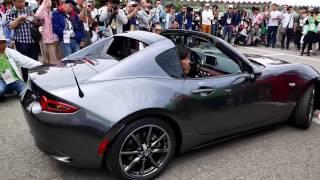 getlinkyoutube.com-【世界初公開!?】  屋外を走る新型ロードスターRF  ~ Mazda MX-5 RF ~
