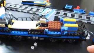 lego train 60052 adding lights 8870 / dodanie oświetlenia do pociągu Lego