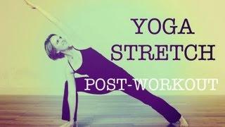 getlinkyoutube.com-10 minute Post WorkOut Yoga Stretch #1