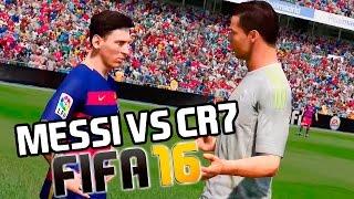 getlinkyoutube.com-Messi vs Cristiano Ronaldo | FIFA 16