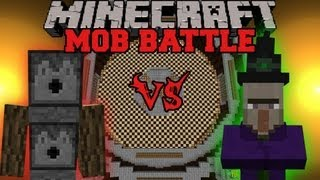 getlinkyoutube.com-Witch Vs. Arrow Golem - Minecraft Mob Battles