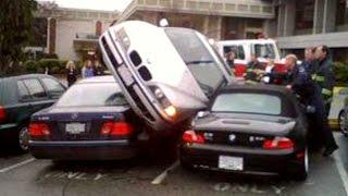 getlinkyoutube.com-10 Minutes BMW and MERCEDES BENZ Crash Compilation - Stupid Accident X6 E36 E30 X5 ML C CL AMG M