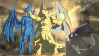 getlinkyoutube.com-AMV Blue Dragon-  Shu vs Rudolph - Last Train