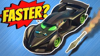getlinkyoutube.com-GTA 5 - Driving FASTER THAN A ROCKET?