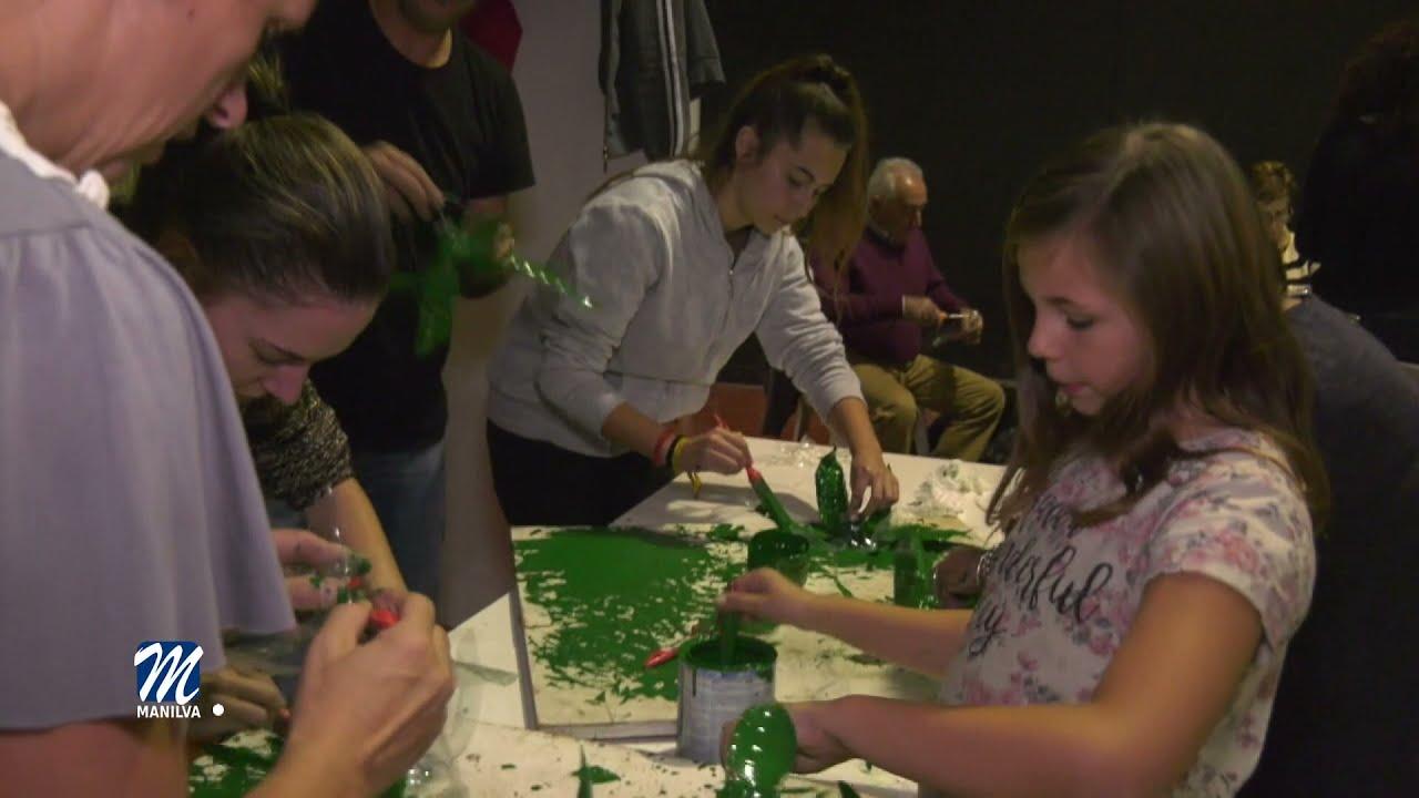 Este viernes tendrá lugar el taller 'Manilva recicla por Navidad'