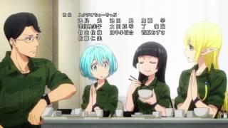getlinkyoutube.com-Gate Jieitai Kanochi nite, Kaku Tatakaeri Ending (TV Version)