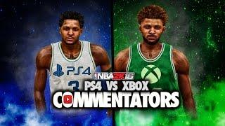 getlinkyoutube.com-NBA 2K16 - PS4 Vs XB1 Commentators | New Competition On The RISE! #2KCommunity