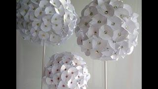 getlinkyoutube.com-Paper flower - Fleur en papier - Flor de papel