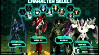 getlinkyoutube.com-Transformers Prime The Game - Multiplayer Mode - Emblem Battle