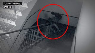 getlinkyoutube.com-Terrific Ghost Attack Video | Ghost Attack Video Caught On CCTV Camera | Scary Videos