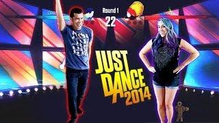 "getlinkyoutube.com-""DUMB DANCE MOVES"" Just Dance 2014 - Husband vs Wife"