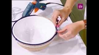 getlinkyoutube.com-صُنع سلة باستخدام الحبال - فاي سابا