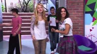 getlinkyoutube.com-Violetta 2 - Los chicos bailando en el studio On Beat