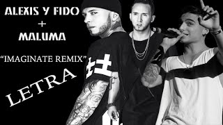 getlinkyoutube.com-Alexis y Fido Feat Maluma - Imaginate Remix