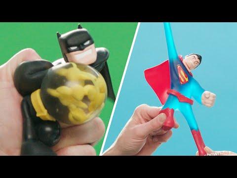 Heroes of Goo Jit Zu DC Versus Pack -  Batman vs Joker