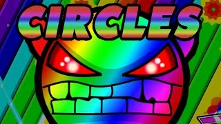 getlinkyoutube.com-Awesome Nine Circles! 3 Geometry Dash Demons