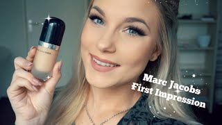 getlinkyoutube.com-Marc Jacobs Re(marc)able Full Cover Foundation | FIRST IMPRESSION