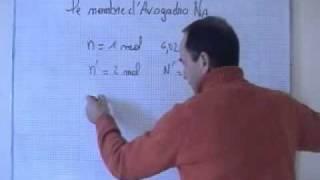 getlinkyoutube.com-cours seconde / ch9: quantité de matière: la mole/ nombre d'Avogadro