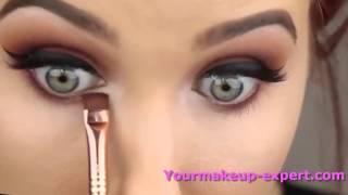 getlinkyoutube.com-احلى مكياج العيون العصرية - مع خبيرة مكياج