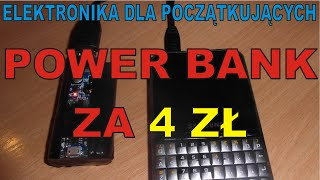 getlinkyoutube.com-ELEKTRONIKA ... - DIY PowerBANK za 4 zł - Jak zrobić powerbank USB