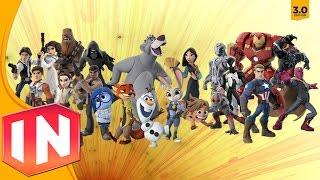 getlinkyoutube.com-Disney Infinity 3.0 - All Character Previews (Remembering Infinity)