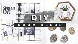 getlinkyoutube.com-DIY Room Decor Tumblr Inspired! (Dollar Store DIYs)