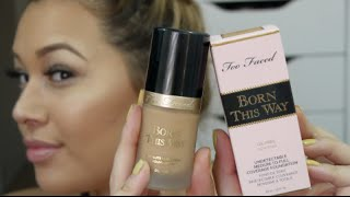 getlinkyoutube.com-TOO FACED BORN THIS WAY FIRST IMPRESSION & REVIEW |BeautyMeTriny  ♥
