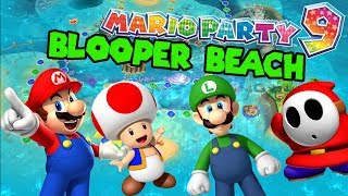 getlinkyoutube.com-Mario Party 9 Blooper Beach HD