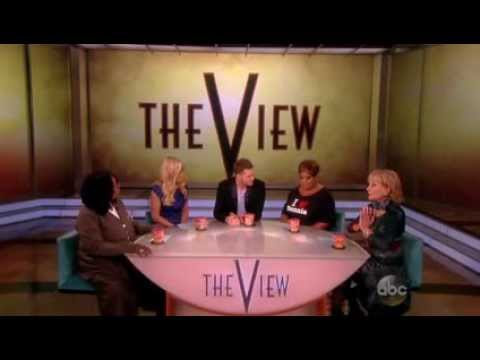 Michael Buble' interview on The View 9/9/13