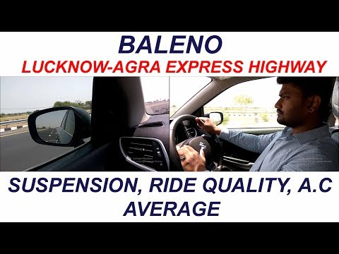 MARUTI BALENO COMFORT | LUCKNOW AGRA EXPRESS HIGHWAY