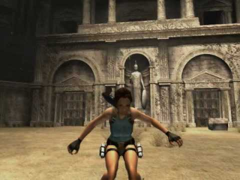 Tomb Raider: Anniversary - Acrobatics Gameplay (Ultra Slow Motion)